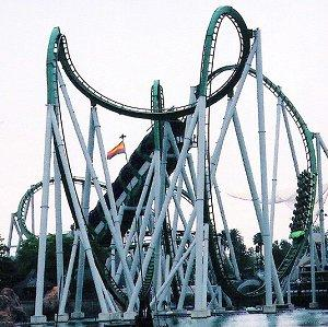 The Incredible Hulk Roller Coaster at Islands of Adventure