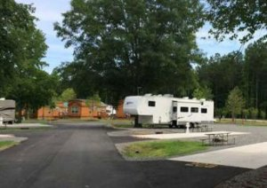 Staying at Kings Dominion Campground