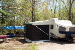 How to Clean a Camper Canopy